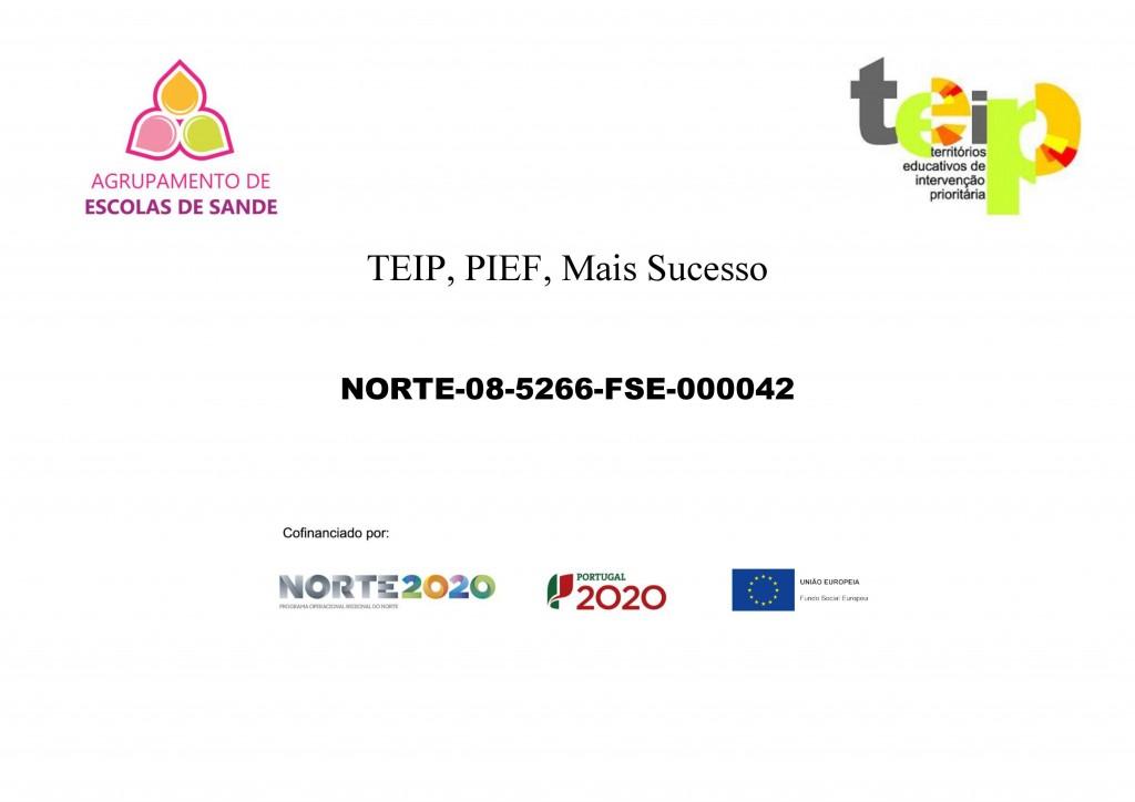 Cartaz Programa TEIP