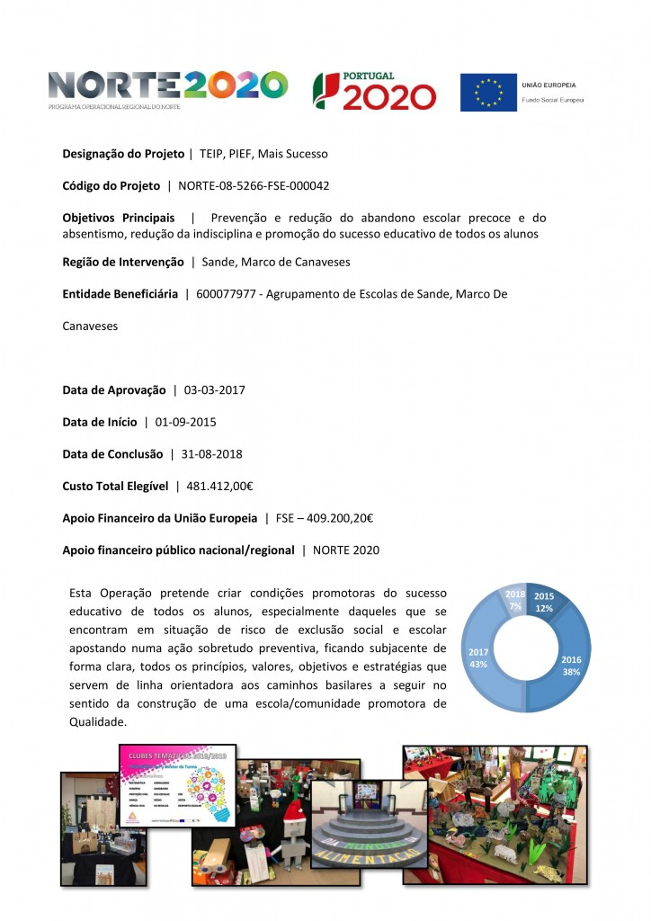 Ficha de Projeto - AE Sande